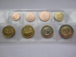 Lot Serie De 8 Pièces Euros Lettonie 2014 - Lettonie
