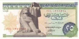 EGYPT 25 PT 1970 P-42 SIG/NAZMI #13 UNC */* - Egypt
