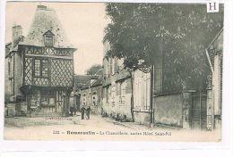 CPA (42) ROMORANTIN - La Chancellerie,ancien Hôtel St-Pol - Animée -(023) - France
