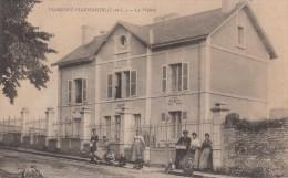 MARIGNY MARMANDE 37 ( LA MAIRIE ) BELLE ANIMATION  1909 - Autres Communes