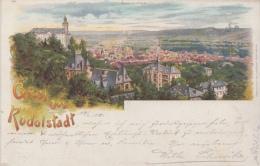 Gruss Aus Rudolstadt       Nr 1582 - Gruss Aus.../ Grüsse Aus...
