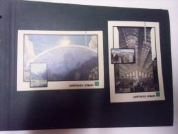 Lot De 2 Cartes Peintures Zoplan (musée Urbain Tony Garnier)/le Geant De Tignes (2 Photos ) - Paintings
