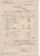 Devis De 1958 Pour Des Travaux Publics Communaux Ville De Montauban - France