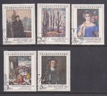Czechoslovakia 1985 Arts Used - Czechoslovakia