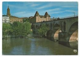 MONTAUBAN, PONT VIEUX SUR LE TARN, CLOCHER EGLISE SAINT JACQUES, MUSEE INGRES, TOURS CATHEDRALE -Tarn Et Garonne, 82 - - Montauban