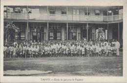 TAHITI - Ecole De Garçons De Papéété - Tahiti