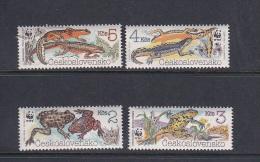 Czechoslovakia 1985 WWF  MNH - Czechoslovakia