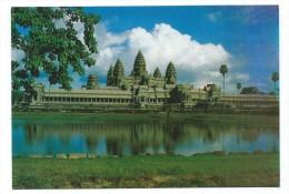THE ANGKOR WAT TEMPLE (TEMPLE D' ANGKOR) Cambodge, Asie - Cambodja