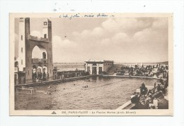 Cp , 62 , LE TOUQUET , PARIS - PLAGE , La Piscine MARINE , écrite 1932 , Ed : CAP 295 - Le Touquet