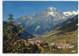 Cp Val-Cenis Lanslevillard - Station Et Dent Parrachée - écrite 1985 (pour Jeux) - Val Cenis