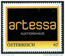 ÖSTERREICH / PM Nr. 8111402 / Auktionshaus Artessa / 62 Cent / 2. Auflage / Postfrisch / ** - Personalisierte Briefmarken