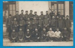 Carte Photo  Militaire  Peloton Cycliste 53° Régiment - Guerre 1914-18