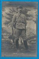 Carte Photo  Militaire   53° Régiment  Officier - Guerre 1914-18