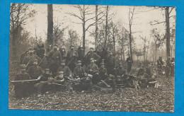 Carte Photo  Militaire   53° Régiment Avec Mitrailleuses - Guerre 1914-18