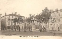 Cpa  St Mihiel Place Ligier Richier - Saint Mihiel
