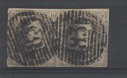 Nr 10A In Doublet - Poststempels/ Marcofilie