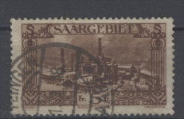 Saargebiet Michel No. 121 gestempelt used