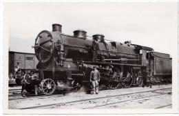 "Train Chemin De Fer S.N.C.F - NORD Locomotive 3.1201 - Prototype Super-Pacific - Edition "" La Vie Du Rail "" 1957 N° 171 - Trenes"