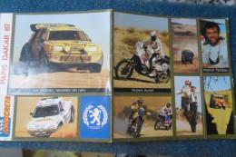 Paris Dakar Stickers 1987 - Sports