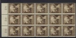 Deutsches Reich Michel No. 665 ** postfrisch Bogenteil