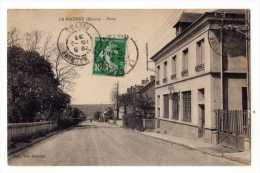 58 - La Machine - La Poste  - 1929 - La Machine