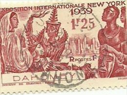 113    Exposition De NEW-YORK      Beau Cachet      (pag7) - Dahome (1899-1944)