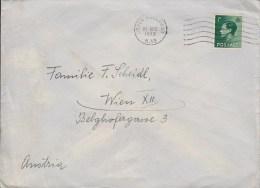 Great Britain UPPER HOLLOWAY 1936 Cover Brief To WIEN Austria King Edward VIII. Stamp - Briefe U. Dokumente