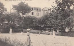 CPA - Beg Meil - Tennis Du Grand Hôtel - Beg Meil