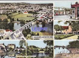 CPSM 10X15  De SAINT AMAND MONTROND  (18) -  Vues Diverses  N°  5 C - Saint-Amand-Montrond