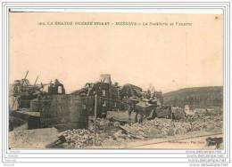 GUERRE 1914 - 17,,,,,,,SOISSONS  LA DISTILLERIE  De  VAUXROT,,,,VOYAGE 1915,,,,,BE,,, - Guerre 1914-18