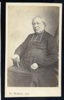 Photographie CDV C. 1860-70 Bodinier F. Photographe Rue Feltre Nantes - Homme D'église - Photo Albuminée - Mars Phot5 - Anciennes (Av. 1900)