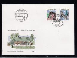Schweiz  MiNr. 1491 /1492    Illustr. Ersttagsbrief / FDC - FDC