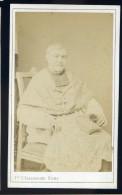 Photographie CDV C. 1860-70 Fratelli Alessandri Photographe Roma  Via Del Corso Homme D' église  - Mars Phot5 - Anciennes (Av. 1900)