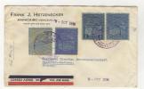 Venezuela Brief 1936 Luftpost nach Deutschland