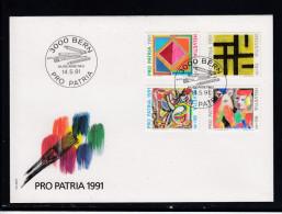 Schweiz  MiNr. 1446 / 1449  Illustr. Ersttagsbrief / FDC - FDC