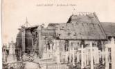 Cpa  59  Saint-aubert , Les Ruines De L'eglise - France