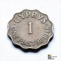 Chipre - 1 Piastre - 1946 - Chypre