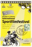 PALERMO MOVIE AND SPORTS FESTIVAL, AMERICAN FOOTBALL, ATHLETICS, CM, MAXICARD, CARTES MAXIMUM, 1993, ITALY - Cinéma