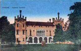 Thiene - Castello Colleoni - Formato Piccolo Viaggiata Mancante Di Affrancatura - Vicenza