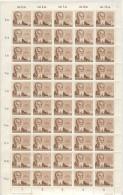 DDR Michel No. 384 X II ** postfrisch Bogen DV / DZ