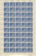 DDR Michel No. 295 ** postfrisch Bogen DV / DZ