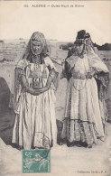 Alg�rie - Biskra - Femmes Ouled-Nayls - Bijoux - Cachet ferroviaire ondul� Philippeville � Constantine 1911