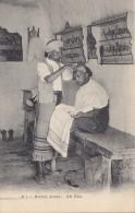 Alg�rie - M�tiers - Barbier Coiffeur