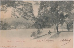 Cpa,1912,sri Lanka, Ceylon ,hotel,kandy,across The Lake,culture Du Thé,chemin Ancien, Rare,asie,asia - Sri Lanka (Ceylon)