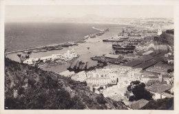 Oran (Alg�rie) - Vue g�n�rale sur le Port