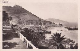 Oran (Alg�rie) - Promenade de L�tang et le Port