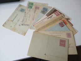 Ganzsachen Deutsches Reich / Österreich / Europa 23 Stück. Ungebraucht / Gelaufen! - Briefmarken