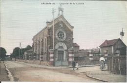 ARGENTEUIL - CARTE COLORISEE- CHAPELLE DE LA COLONIE - Argenteuil
