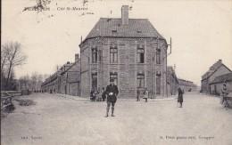 CPA/POSTCARD- FLIXECOURT - CITE ST MAURICE - VOYAGEE 1922 - DOS VERT - Flixecourt