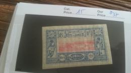 LOT 251258 TIMBRE DE COLONIE SOMALIS  NEUF* N�15 VALEUR 37 EUROS